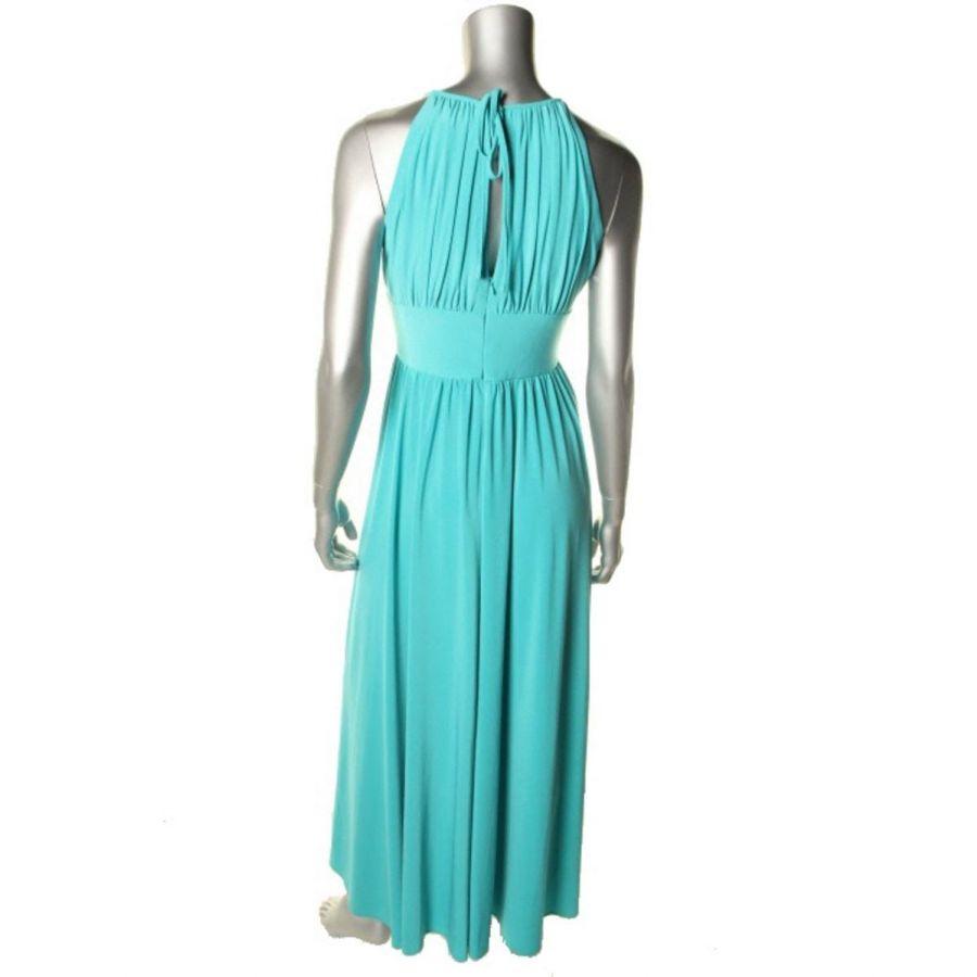 d76e3b720906 tyrkysové dlouhé společenské šaty R   M Richards na ples - plesové ...